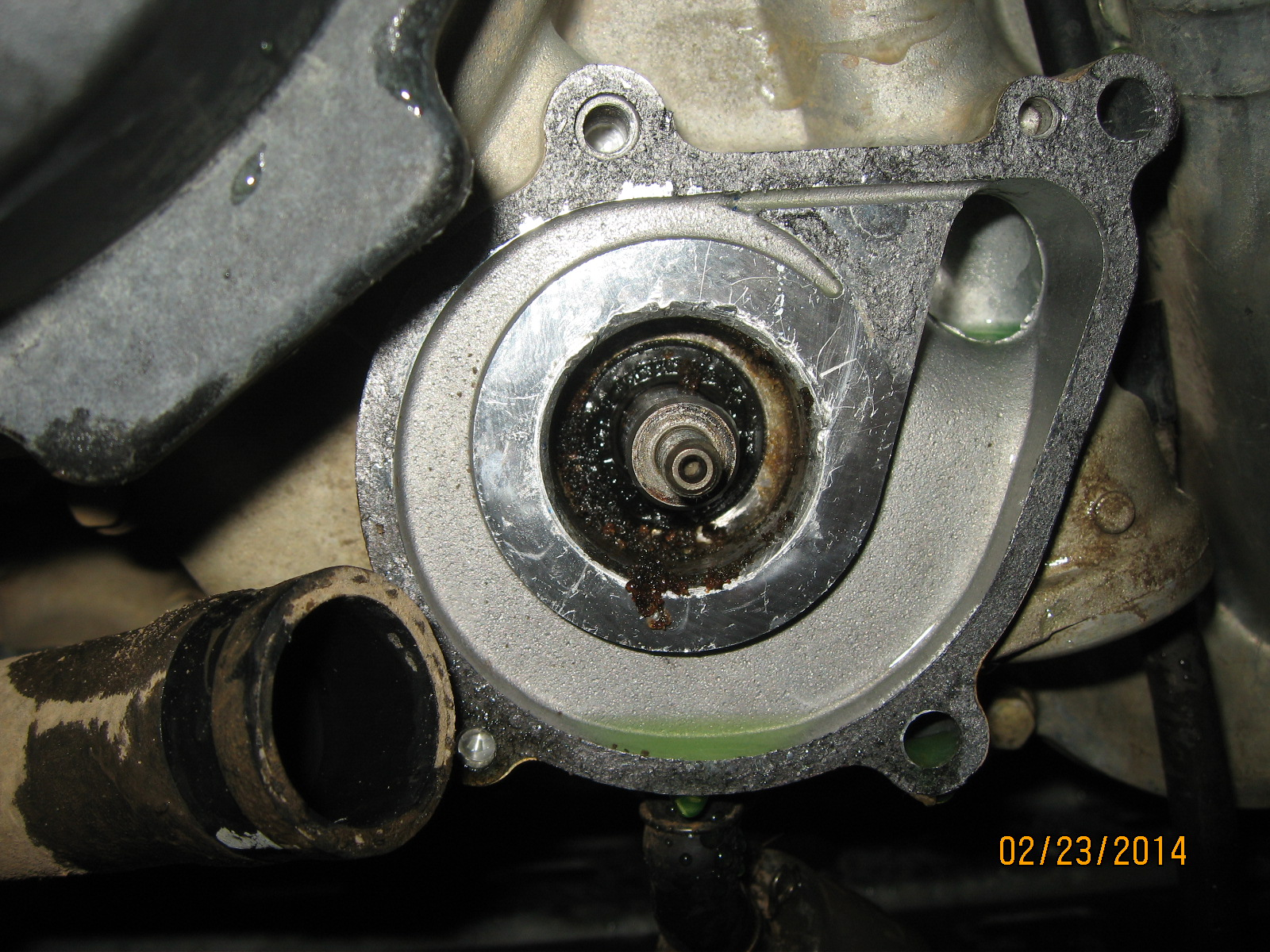 2003 range rover engine diagram 1st time water pump seal repair mudinmyblood forums  1st time water pump seal repair mudinmyblood forums