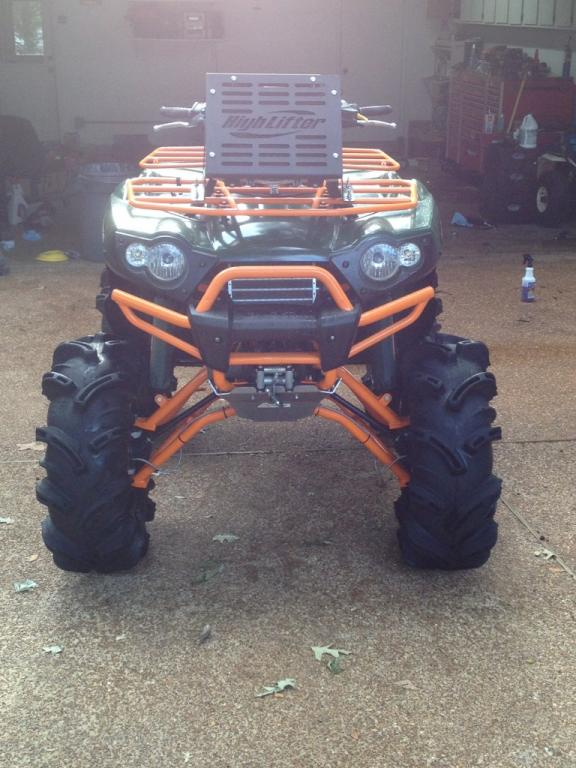fixing to redo brute with big lift  (6