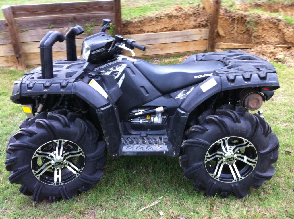 Largest Tires On A Stock Polaris Page 2 Mudinmyblood Forums