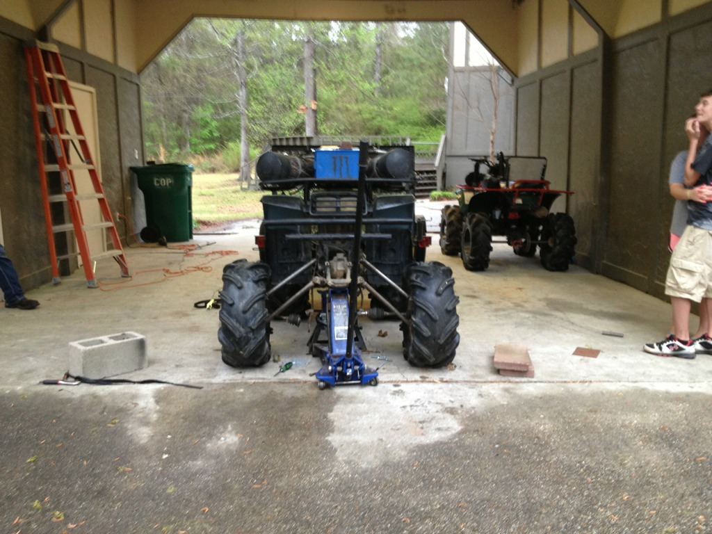 Big bear 350 custom lift - MudInMyBlood Forums