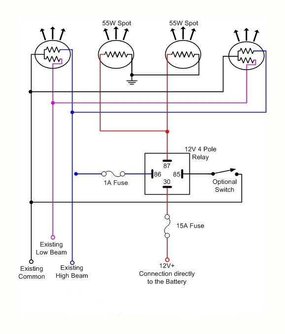 How To Wire Lights With A Relay Mudinmyblood Forums