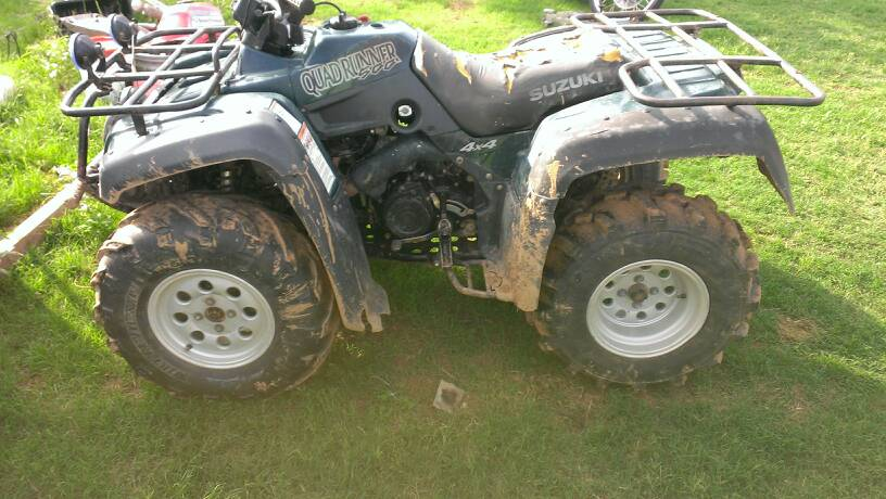 Suzuki Quad Runner X Oil