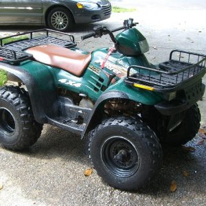 2002 Polaris 400cc Xplorer 4x4 Atv