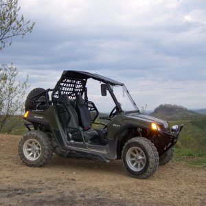 Jim's Rzr On The Trail.2